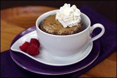 Peanut Butter & Chocolate Cake In a Mug