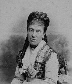 Archduchess Maria Karoline of Austria-Teschen (1825-1915). She married her cousin Archduke Rainer Ferdinand of Austria, third son of Archduke Rainer of Austria.