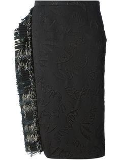 Rochas Bat Embroidered Skirt - Soho-soho - Farfetch.com