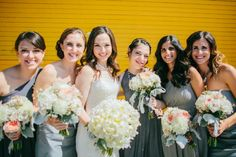 Beautiful lush, romantic and vintage bouquets! Photo credit: Tim Tab Studios