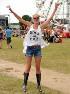 The Isle of Wight Festival is always full of fun and fabulous outfits.