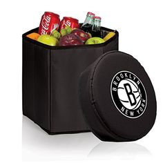 NBA Brooklyn Nets Bongo Insulated Collapsible Cooler * Visit the image link more details.