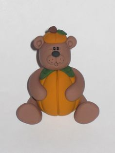 Pumpkin Patch Bear. $8.00, via Etsy.