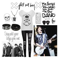 Fall Out Boy Concert by beadances on Polyvore featuring polyvore, fashion, style, Warpaint and INDIE HAIR