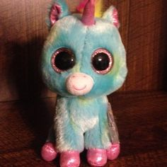 "TY Beanie Boo 6"" Treasure the Unicorn 