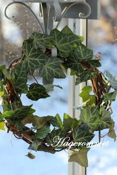 Decorating with wreaths.....
