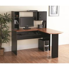 You'll love the Computer Desk with Hutch at Wayfair - Great Deals on all Office  products with Free Shipping on most stuff, even the big stuff.