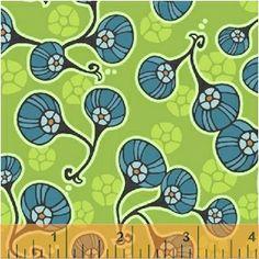 Posy Peridot / Kingdom / Jessica Levitt for Windham Fabrics