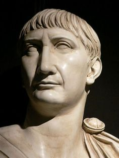 The Roman Emperor Trajan.  We see history gratis through the eyes of countless, often nameless, artists. I suspect far-future generations will too. Support the arts.