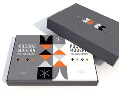 The Retro Deck - Playing Cards by Pocono Modern on Kickstarter