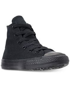 bf46d4f87924 Converse Little Boys  Chuck Taylor All Star Ox Casual Sneakers from Finish  Line - Black