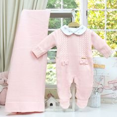 Saída de Maternidade Completa Laços Rosa