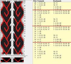 20 tarjetas, 4 colores, repite cada 8 movimientos // sed_935 diseñado en GTT༺❁