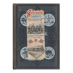 Interesting bookmark today, a souvenir of the 1893 Columbian Expo:  http://www.forgottenbookmarks.com/2017/07/discovery.html