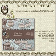 MicheleRDesign: Weekend Freebie