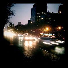Instantes de Madrid / Paseo de la Castellana, de lo más fotogénico' al anochecer