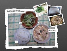 For Dinner on 09/Oct/2012