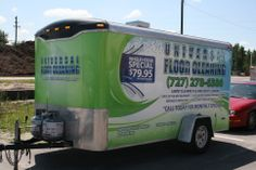 Universal Floor Cleaning Trailer Wrap