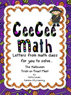 This series of monthly problem solving experiences for third, fourth, and fifth graders meets the Common Core Standards for Eight Mathematical Practices. The problem solving process this time involves combining real-world common sense with the strategy of making an organized list. Discussion is essential to this solution, so students should work in groups. This particular problem would also make a great station activity for Halloween.
