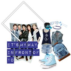 """""""IT'S MY WAY IN FRONT OF 1D"""" by tika-shanti on Polyvore"""