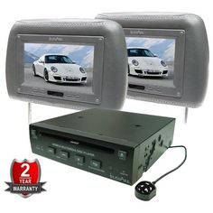 Save £370 and entertain yourself on long journeys with this In Phase DVD player with 2 headrest screens!