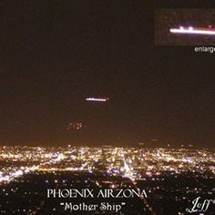 the phoenix lights, seen by hundreds