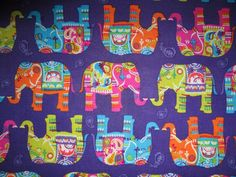 Ordered from scizzors: Elephant Parade Elephants Purple Cotton Fabric Fat Quarter or Custom Listing by scizzors on Etsy https://www.etsy.com/listing/226834936/elephant-parade-elephants-purple-cotton