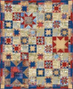 Red Rooster Quilts: Shop | Category: Patterns - Download for FREE | Product: America Free Quilt Pattern