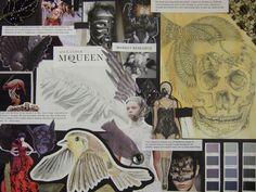 higher design research A Level Art Sketchbook, Textiles Sketchbook, Advanced Higher Art, Art Boards, Design Boards, Portfolio Examples, Grammar School, Body Adornment, Expressive Art