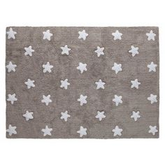 Star Hand-Tufted Grey Area Rug Lorena Canals Rug Size: Rectangle 120 x Lorena Canals Teppich, Lorena Canals Rugs, Grey And White Rug, White Area Rug, Washable Area Rugs, Childrens Rugs, Cotton Plant, Tapis Design, Star Rug
