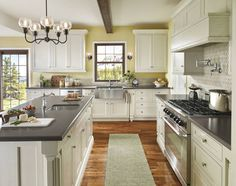 Kitchen Cabinets Colors 2016 what countertop color looks best with white cabinets? | white