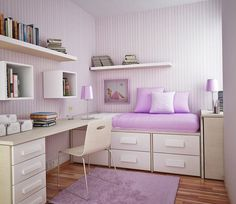 cool girl bedrooms purple interior design bedroom teenage bedroom design ideas 655x568 - Teenage Interior Design Bedroom