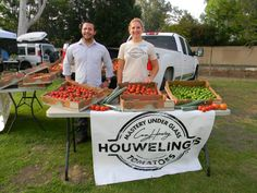 Houweling's booth at Mound School's Farm Day 2013.