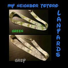 """Totoro Lanyards Lanyard, Key Chain, Neck Strap, Badge ID Holder   Approx 17"""" long, has a durable lobster claw for securely attaching your items to it.   They are brand new! No one has used these at all. No reasonable offer refused. Other"""