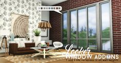 Sims 4 CC's - The Best: Windows by Simsational Designs