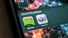 Spotify and Yahoo Announce Major Distribution Deal