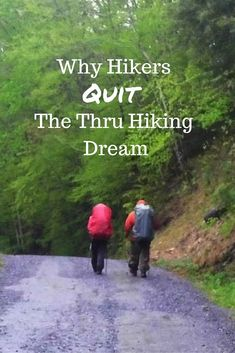 If you're planning on thru hiking the Appalachian Trail, you've probably heard that while thousands begin, only a couple hundred actually finish. Read on to learn why most hikers quit their thru hiking dream and some tips for your success. Thru Hiking, Hiking Tips, Camping And Hiking, Hiking Gear, Hiking Backpack, Hiking The Appalachian Trail, Hiking Shoes, Camping Ideas, Travel Backpack