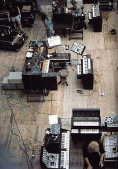 floppy-diskette (A:), nock-nock-nock: Tangerine Dream in 1974.