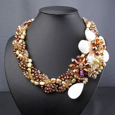 Pearl Necklace Multi-Strand Necklace With Pearl,MOP