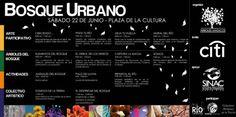 Bosque Urbano en la Plaza de la Cultura  costaricagratis.com