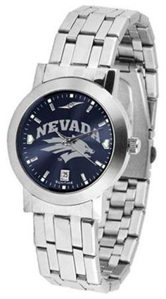 Nevada Wolf Pack NCAA Mens Modern Wrist Watch SunTime. $80.95. Save 21% Off!