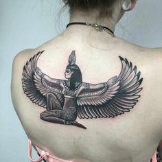 Quelle est la signification des tatouages égyptiens #cars #cars #for #women Egyptian Goddess Tattoo, Isis Goddess, Sexy Tattoos, Tattoos For Women, Tattoos For Guys, Persian Tattoo, Him And Her Tattoos, Anubis Tattoo, Family Tattoo Designs