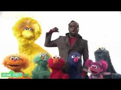 Sesame Street  Will i am's Song 'What I Am'   Love this song... We would play it at the end of every day from the smart board in the life skills classroom I worked in.  The kids loved it too!
