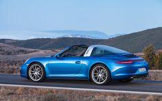Porsche 911 Targa 4 : la renaissance d'un mythe - Porsche revisite la Targa de 1965 et dévoile sa version 2014