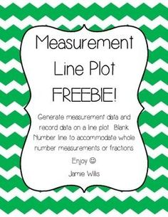 2.MD.9 This activity page asks students to practice their measurement skills by measuring pencils at their table and making a line plot of their data.  There are three different version in this pack:Grade 2 Version (Measure to the nearest whole unit)Grade 3 Version (Measure to the nearest quarter unit)Grade 4 Version (Measure to the nearest fraction of a unit)This freebie is from my collection of measurement lessons, available ...