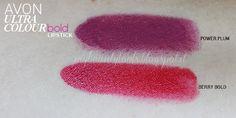 Avon Ultra Colour Bold Lipstick: Berry Bold, Power Plum   My Beauty Tools #avon #avoncosmetics #lipstick #makeup #red #redlipstick #mauve #mauvelipstick #beauty #mybeautytools #LaCocci http://mybeautytools.blogspot.it/2015/02/avon-ultra-colour-bold-lipstick-berry.html