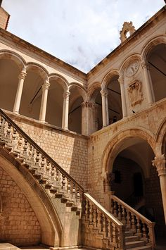 rector's palace, dubrovnik Beautiful Architecture, Beautiful Buildings, Monuments, Dalmatia Croatia, Travel Bugs, Dubrovnik, Eastern Europe, Staircases, Storyboard