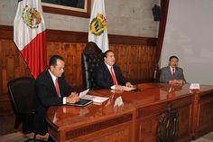 El gobernador Javier Duarte de Ochoa ofreció conferencia de prensa, donde habló sobre la seguridad de Veracruz.