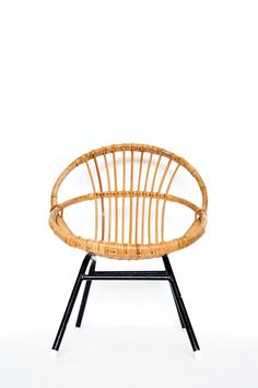 Mid Century Child's Hoop Chair Mies van der by VintagefromVenusNL
