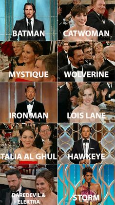 There was a secret mission going on at the Golden Globes